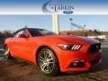2015 Race Red Ford Mustang EcoBoost Premium Convertible #100751228