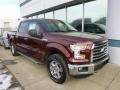 Bronze Fire Metallic 2015 Ford F150 XLT SuperCrew 4x4