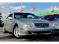 Brilliant Silver Metallic 2002 Mercedes-Benz CL 500