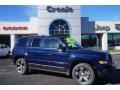 2015 True Blue Pearl Jeep Patriot Latitude #100816057
