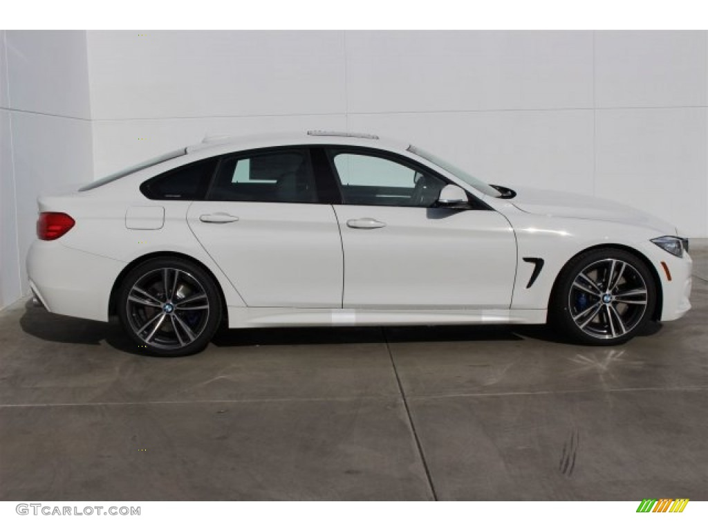 alpine white 2015 bmw 4 series 435i xdrive gran coupe. Black Bedroom Furniture Sets. Home Design Ideas
