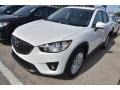 2015 Crystal White Pearl Mica Mazda CX-5 Grand Touring #100842259