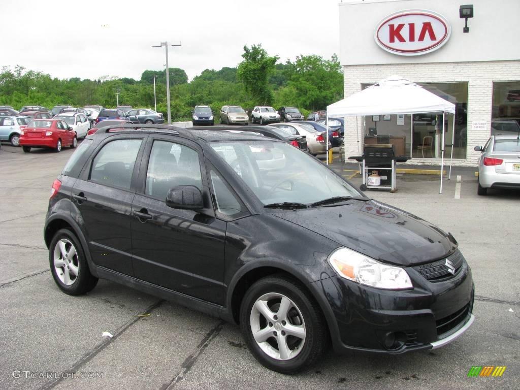 2007 Black Onyx Pearl Suzuki Sx4 Awd 10053457 Gtcarlot