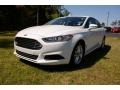 Oxford White 2014 Ford Fusion SE