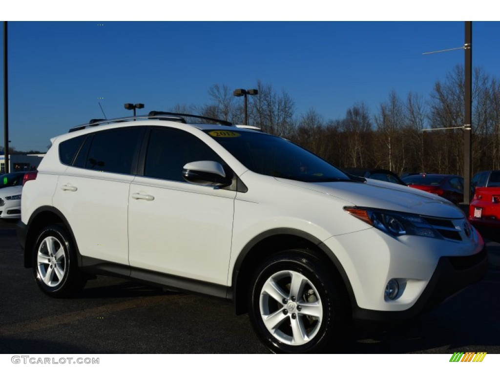 2013 super white toyota rav4 xle awd 100889431 photo 29 car color galleries. Black Bedroom Furniture Sets. Home Design Ideas