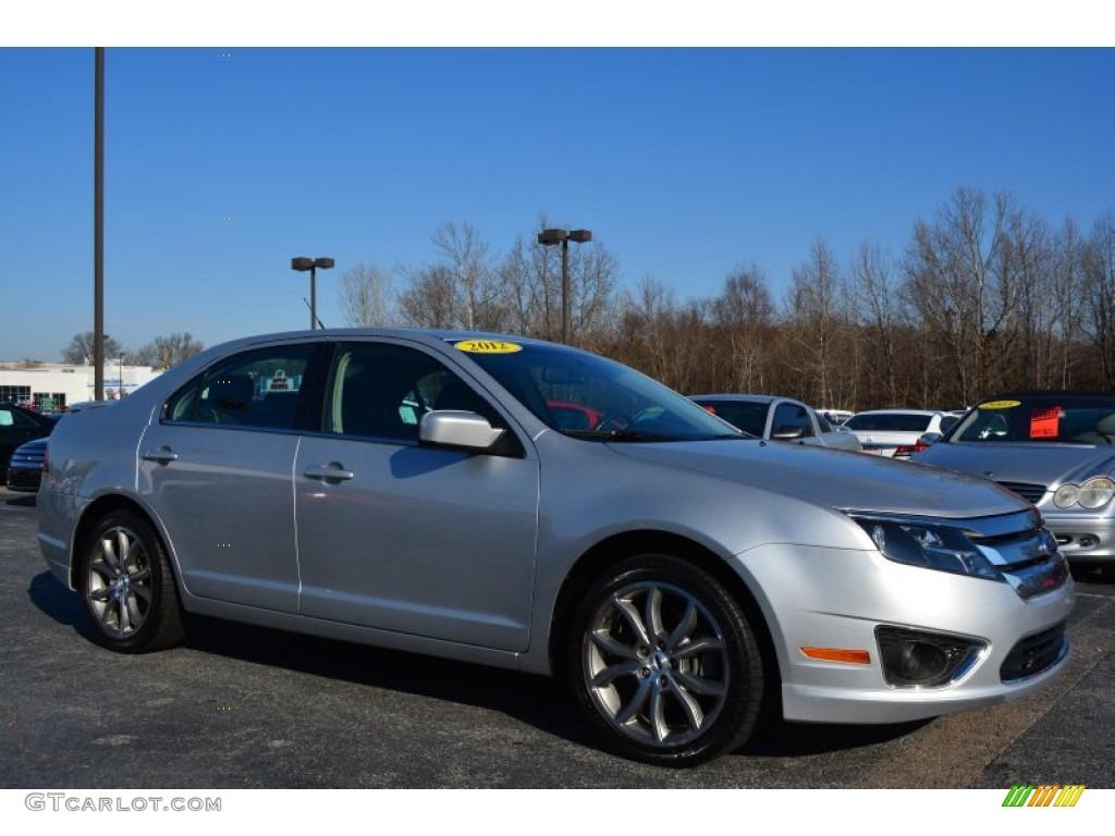 2012 ingot silver metallic ford fusion se v6 100889427 photo 6 car color. Black Bedroom Furniture Sets. Home Design Ideas