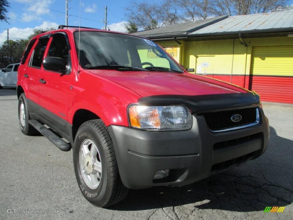2002 bright red ford escape xlt v6 100889574 car color galleries. Black Bedroom Furniture Sets. Home Design Ideas