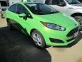 2015 Green Envy Ford Fiesta SE Sedan #100922136