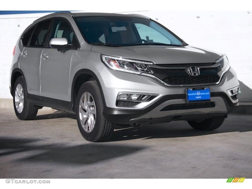 Alabaster Silver Metallic Honda CR-V