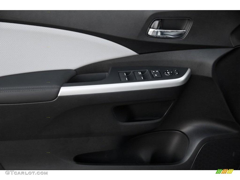 2015 CR-V EX-L AWD - Alabaster Silver Metallic / Gray photo #8
