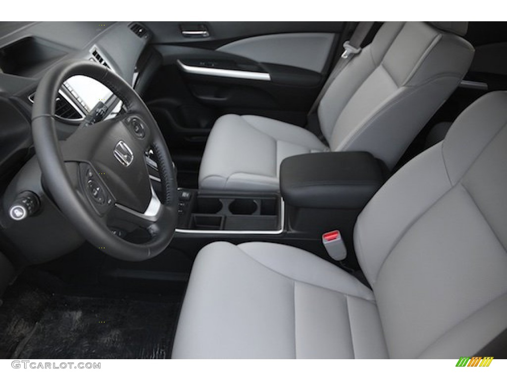 2015 CR-V EX-L AWD - Alabaster Silver Metallic / Gray photo #9