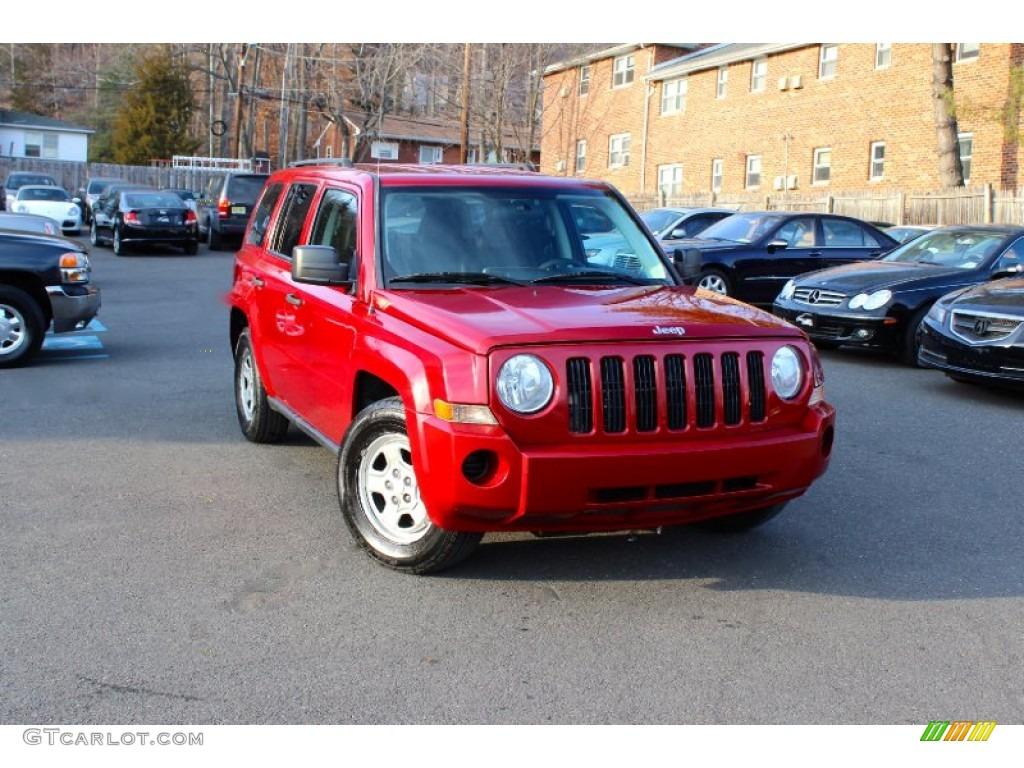 2008 red crystal pearl jeep patriot sport 4x4 100956881 photo 25 car color. Black Bedroom Furniture Sets. Home Design Ideas