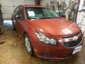 Autumn Red Metallic 2012 Chevrolet Cruze LS
