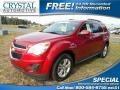 Crystal Red Tintcoat 2014 Chevrolet Equinox LT