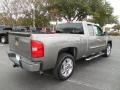 2013 Mocha Steel Metallic Chevrolet Silverado 1500 LT Extended Cab  photo #8
