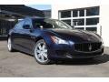 Blu Passione (Passion Blue) 2015 Maserati Quattroporte S Q4 AWD