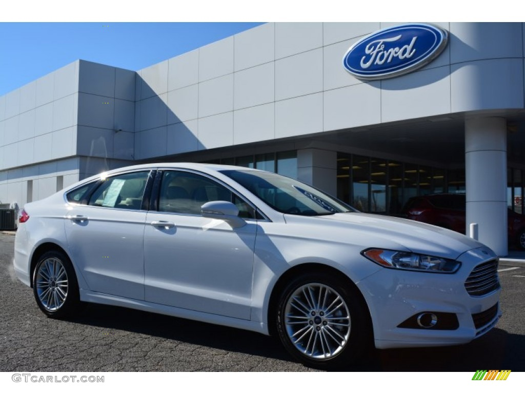 2015 oxford white ford fusion se 101034169 car color galleries. Black Bedroom Furniture Sets. Home Design Ideas