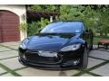 Black Solid 2014 Tesla Model S