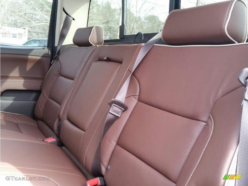 High Country Saddle Interior 2015 Chevrolet Silverado 3500HD High Country  Crew Cab Dual Rear Wheel Photo