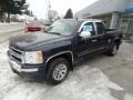 2011 Imperial Blue Metallic Chevrolet Silverado 1500 LS Extended Cab  photo #2