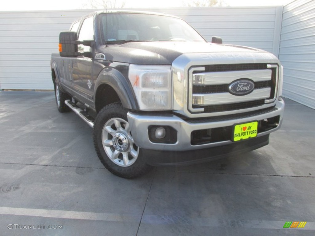 Blue Jeans Ford F250 Super Duty