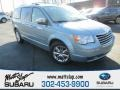 Clearwater Blue Pearlcoat 2008 Chrysler Town & Country Limited