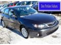 Dark Gray Metallic 2008 Subaru Impreza 2.5i Wagon