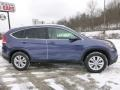 2013 Twilight Blue Metallic Honda CR-V EX-L AWD  photo #2