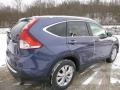 2013 Twilight Blue Metallic Honda CR-V EX-L AWD  photo #3