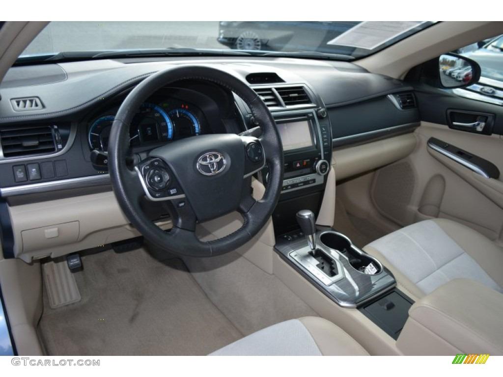 2012 Toyota Camry Hybrid Xle Interior Color Photos