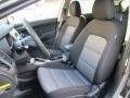 Front Seat of 2015 Forte5 EX