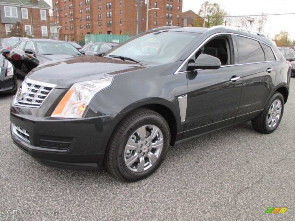 2015 Graphite Metallic Cadillac Srx Luxury Awd 101164393 Car Color Galleries