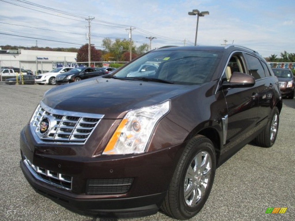 2015 Cocoa Bronze Metallic Cadillac Srx Luxury Awd 101164381 Car Color Galleries