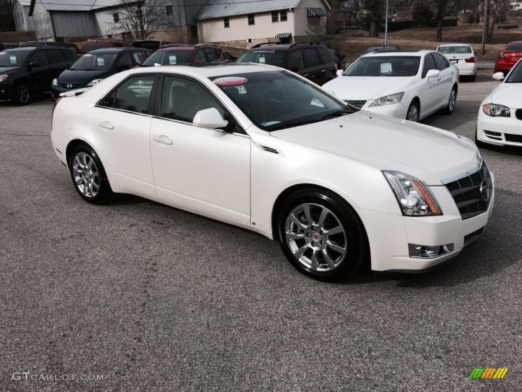 2009 white diamond tri coat cadillac cts sedan 101164598 car color galleries. Black Bedroom Furniture Sets. Home Design Ideas