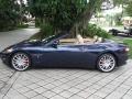 Blu Mediterraneo (Blue Metallic) 2012 Maserati GranTurismo Convertible GranCabrio