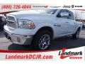 Bright White - 1500 Laramie Quad Cab 4x4 Photo No. 1