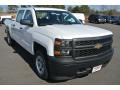 Summit White - Silverado 1500 WT Crew Cab 4x4 Photo No. 1