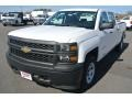 Summit White - Silverado 1500 WT Crew Cab 4x4 Photo No. 2