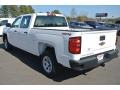 Summit White - Silverado 1500 WT Crew Cab 4x4 Photo No. 4
