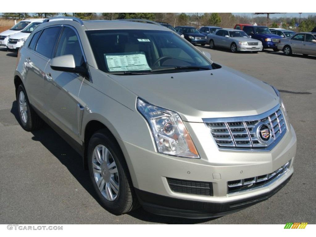 2015 Silver Coast Metallic Cadillac Srx Luxury 101211890