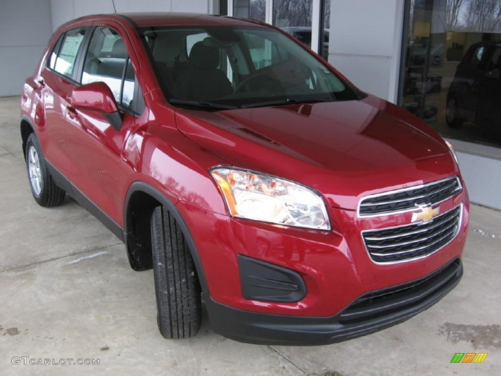 2015 ruby red metallic chevrolet trax ls awd 101212011. Black Bedroom Furniture Sets. Home Design Ideas