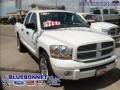 2006 Bright White Dodge Ram 1500 Sport Quad Cab  photo #6