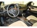 2012 1 Series 128i Convertible Savanna Beige Interior