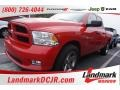 2012 Flame Red Dodge Ram 1500 Express Quad Cab #101244233