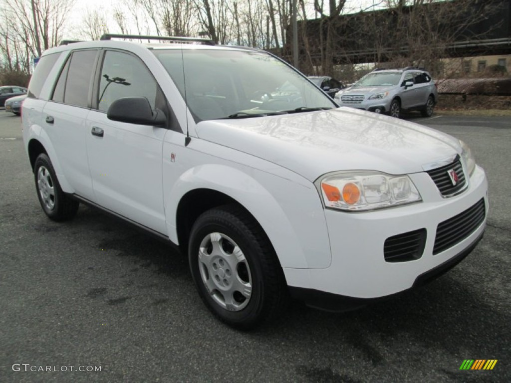 polar white 2006 saturn vue standard vue model exterior. Black Bedroom Furniture Sets. Home Design Ideas