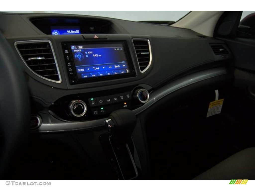 2015 CR-V EX - Basque Red Pearl II / Gray photo #13
