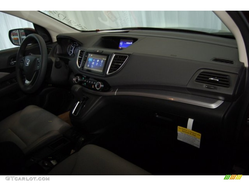 2015 CR-V EX - Basque Red Pearl II / Gray photo #26