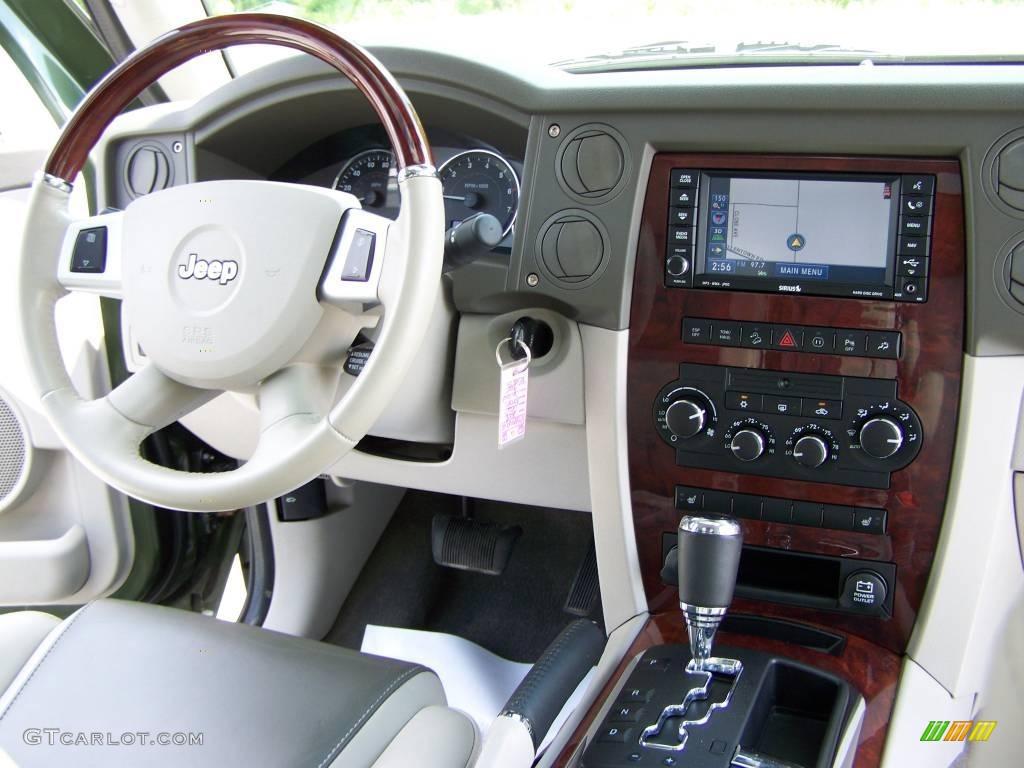 2008 Jeep Green Metallic Jeep Commander Overland 4x4 10090923 Photo 19 Car