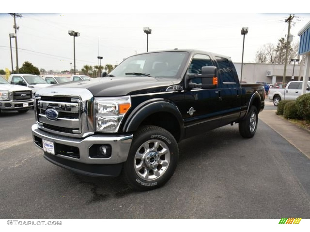 2015 tuxedo black ford f250 super duty lariat crew cab 4x4 101287103 car color. Black Bedroom Furniture Sets. Home Design Ideas
