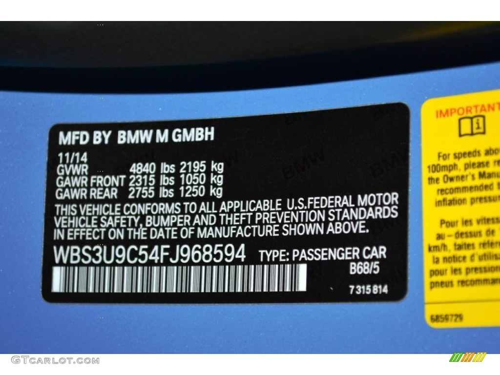 Metallic blue car paint codes 12